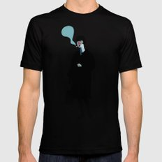 Nana SMALL Mens Fitted Tee Black