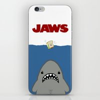 JAWS Movie Poster iPhone & iPod Skin