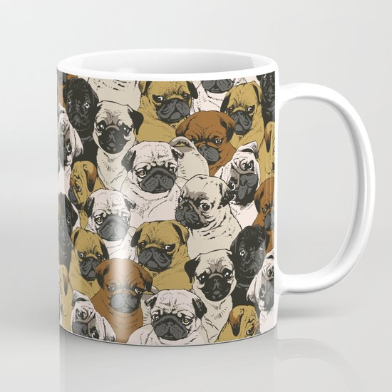 Social Pugz Mug