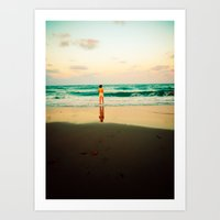 End of Summer Nostalgia IV Art Print