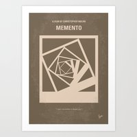 No243 My Memento Minimal… Art Print