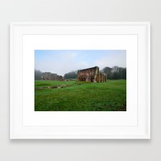 Barrow Abbey Framed Art Print