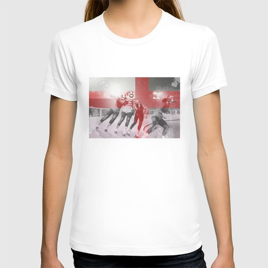 Punchtuation Roller Derby T-shirt