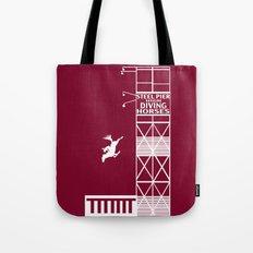 Diving Horse Tote Bag