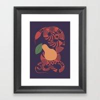 The Forbidden Fruit Framed Art Print