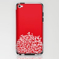 Red Birds iPhone & iPod Skin