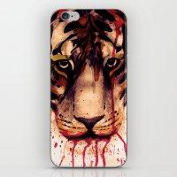 Tyger! Tyger! Burning Bright! iPhone & iPod Skin