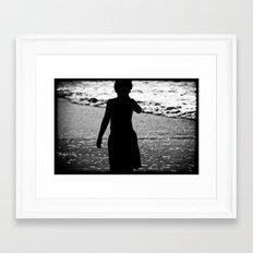 The son Framed Art Print