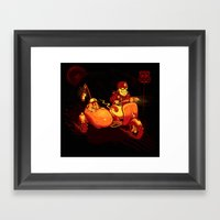 Route To Hell Framed Art Print
