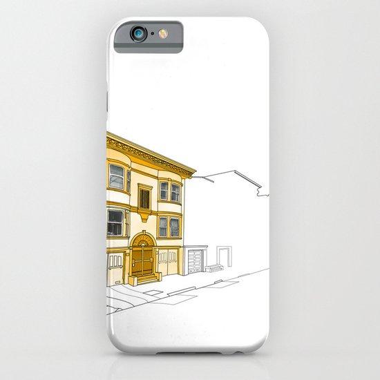 Yellow San Francisco Haus iPhone & iPod Case