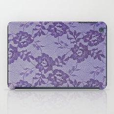 Purple lace iPad Case