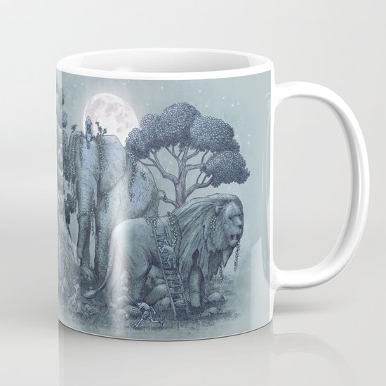 Midnight in the Stone Garden (colour option) Mug