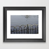 Don't Fall Framed Art Print