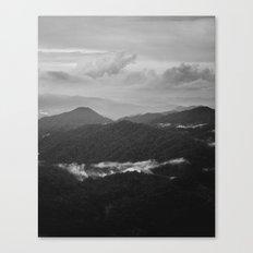 a dark earth Canvas Print