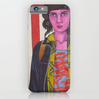 iPhone & iPod Case featuring My Name Is Jessica Hyde by Anna Gogoleva