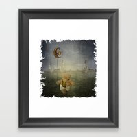 Good Night Framed Art Print
