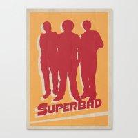 Superbad Movie Poster Canvas Print