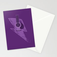 Electric - Acoustic Lightning Stationery Cards