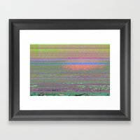 Autotune 2 Framed Art Print