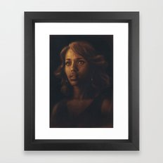 Kerry Washington Framed Art Print