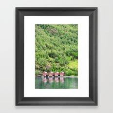 FLAM, Norway Framed Art Print