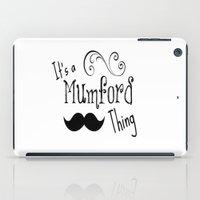 It's A Mumson Thing iPad Case