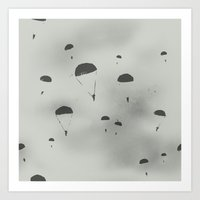 The Paratroopers Art Print