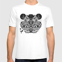 Scorn Pourer Mens Fitted Tee White SMALL