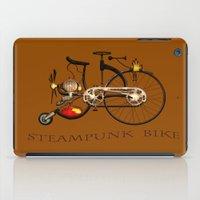 Steampunk bike iPad Case