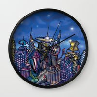 C2 & Posse (New-New York City) Wall Clock