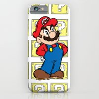 iPhone & iPod Case featuring It's A Me by 8 BOMB
