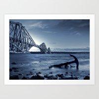 The Forth Rail Bridge Scotland Art Print