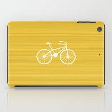 Yellow Bike by Friztin iPad Case