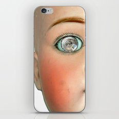 Mad-Eyed Mentalembellisher Victorian Porcelain Doll iPhone & iPod Skin