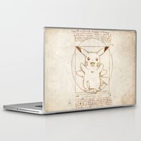 Laptop & iPad Skin featuring Vitruvian Mon by Tom Ledin