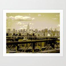 NYC Beauty Art Print