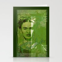 Frida Kahlo - Between Wo… Stationery Cards