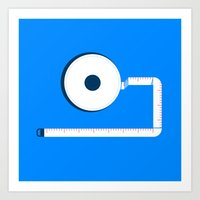 Measuring Tape Art Print