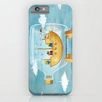 AIRSHIP IN A BOTTLE iPhone 6 Slim Case