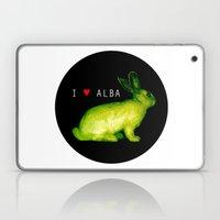 I LOVE ALBA Laptop & iPad Skin