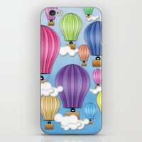 UP! UP! AND AWAAAAAAYYY!  iPhone & iPod Skin