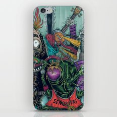 Sid Squish and the Death Collectors iPhone & iPod Skin