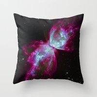 Space Winds Throw Pillow