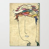 I Don't Need Eyes To See… Canvas Print