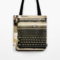 You never write... Tote Bag
