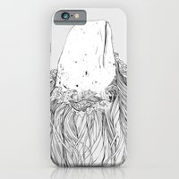 iPhone Cases featuring The White Whale  by Huebucket