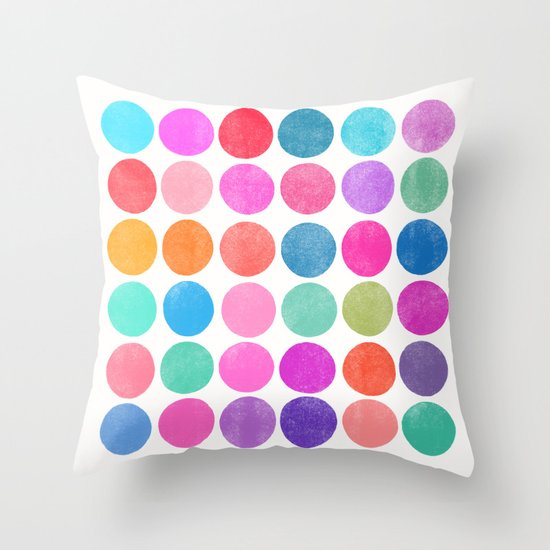 colorplay 8 Throw Pillow