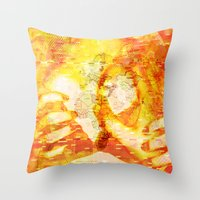Never In A Million Years < The NO Series (Orange) Throw Pillow