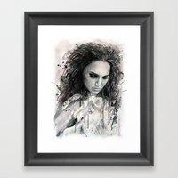 Black Swan - Natalie Portman Framed Art Print