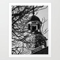 Woolwich Clock Tower Art Print